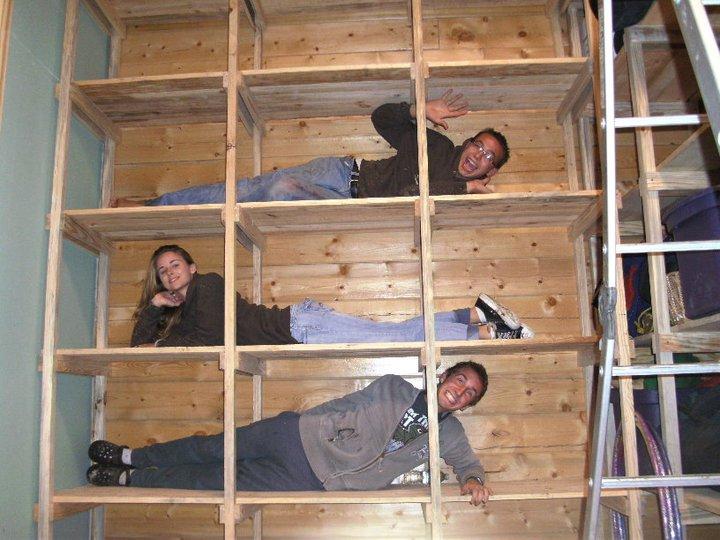 Building Storage Shelves