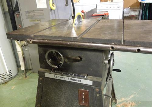 Re Old Table Saw Wiring