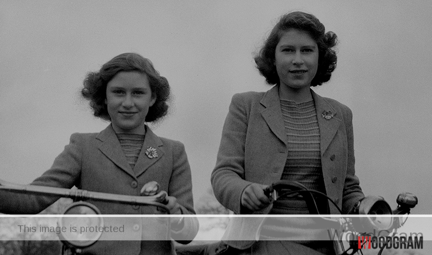 Princess Margaret and Her Sister
