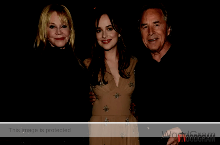 Dakota Johnson Parents