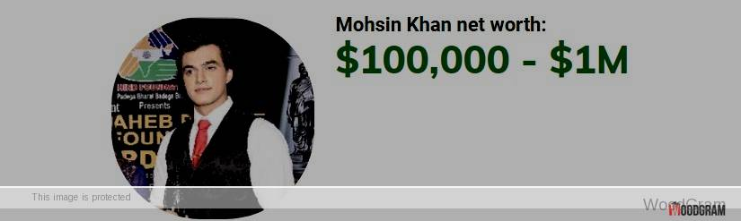 Mohsin Khan Net Worth