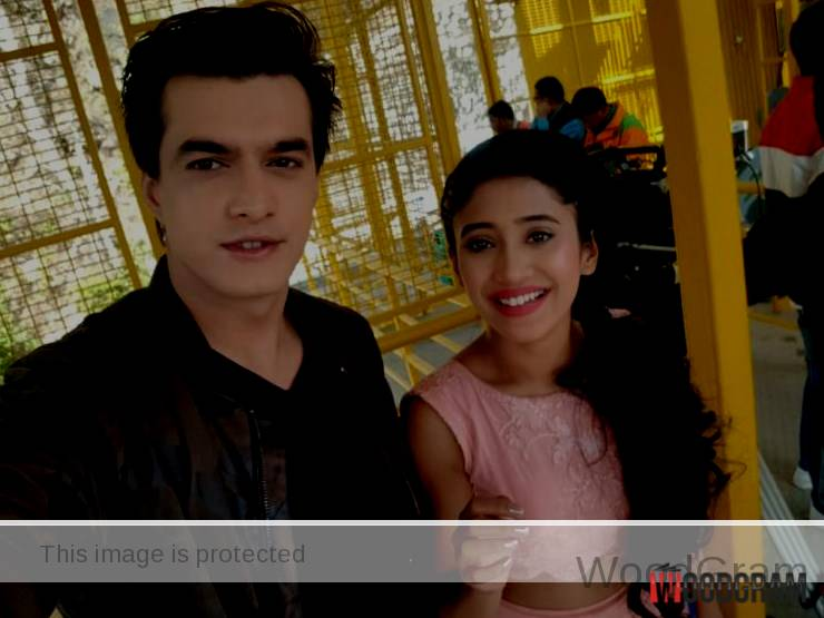 Shivangi Joshi And Mohsin Khan Image