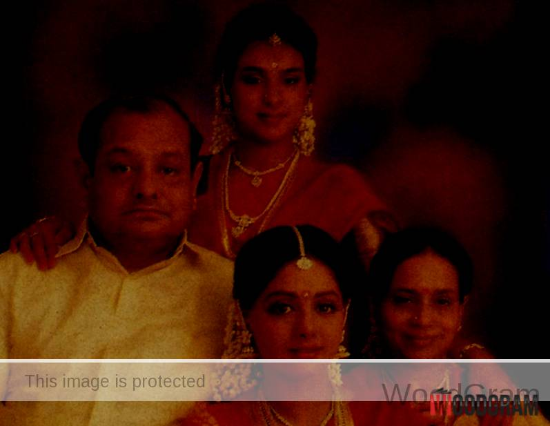 Rajeswari Yanger Family, Daughters Sridevi And Srilatha Yanger and Husband K. Ayyapann