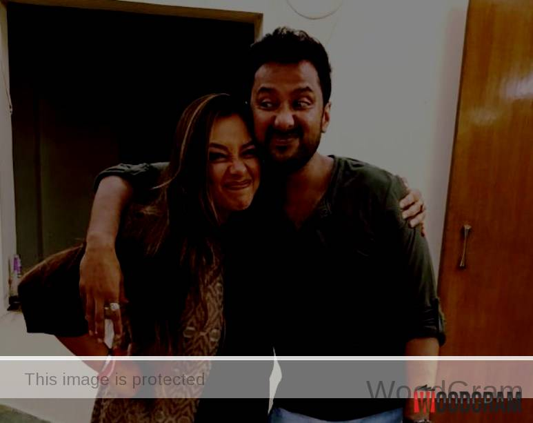 Rupali Ganguly With Her Brother