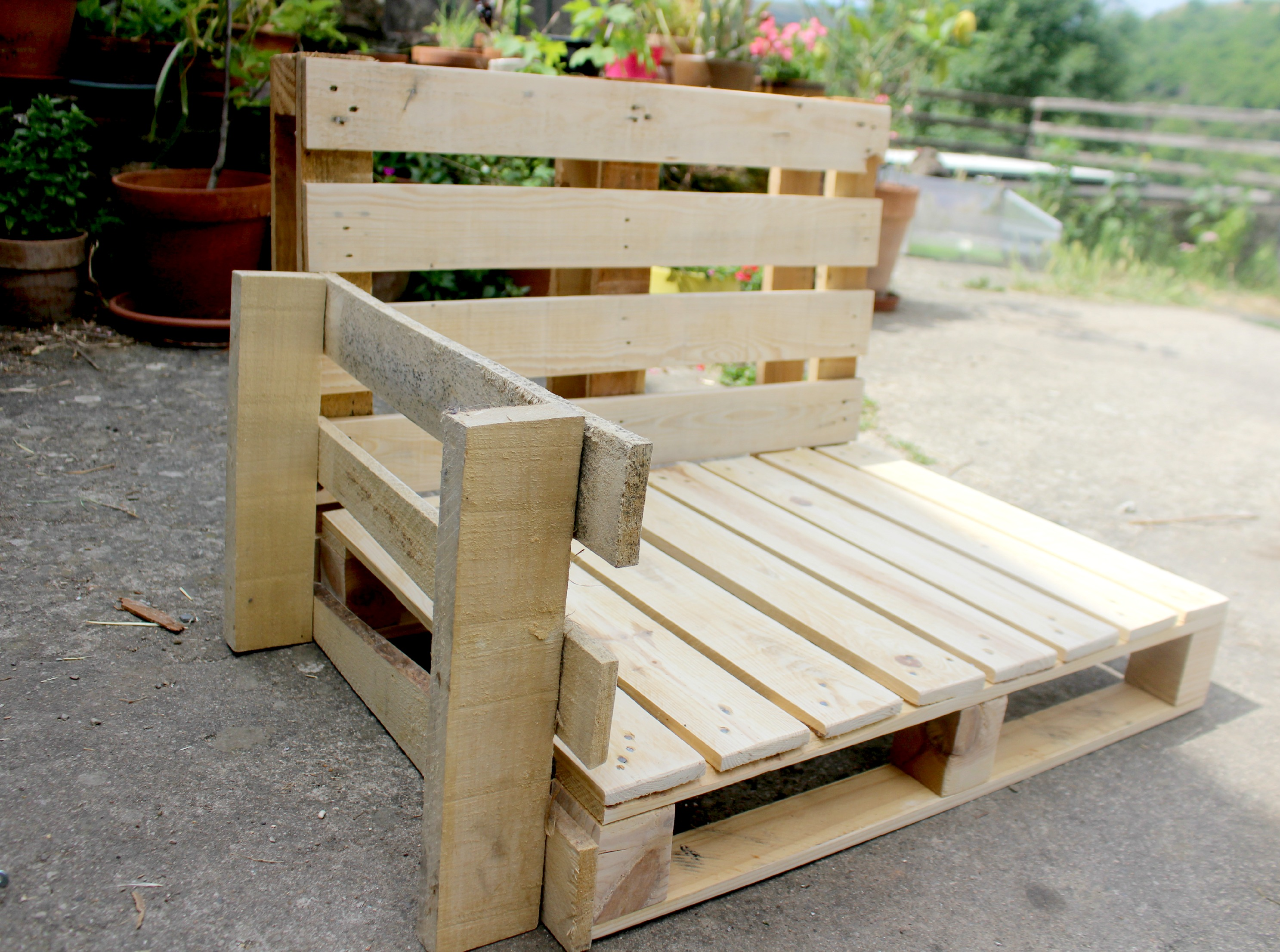 DIY fauteuil outdoor  Et oui cest possible  woodhappen