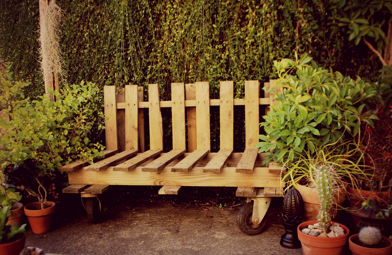 Luxe Banc En Palette  Idées De Salon De Jardin