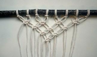 tuto suspension murale en macramé woodhappen