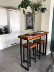 Ideas de cocinas con barra Muebles rústicos a medida