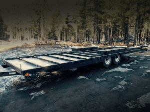 tiny home house Custom Trailer from Great Northern Trailer Works