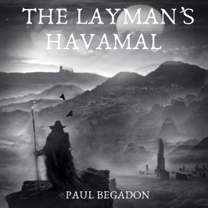 the layman's havamal audiobook cover on audible