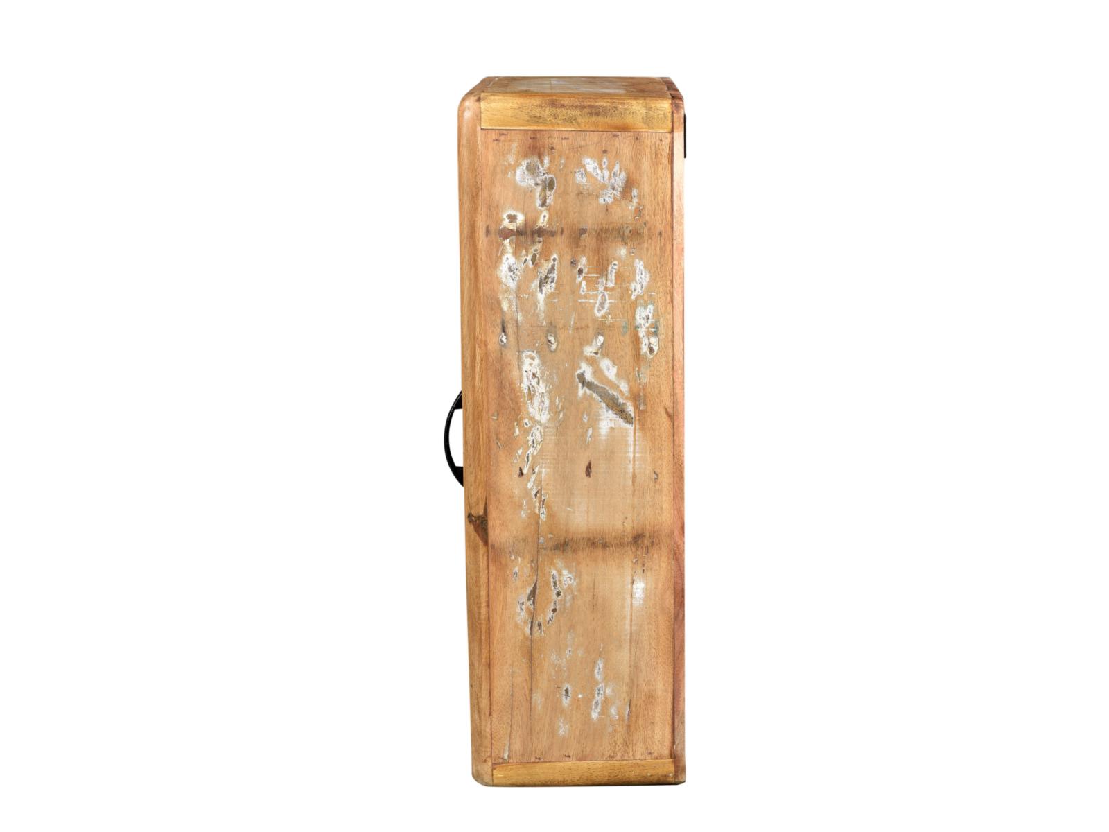 Bad Hngeschrank Kalkutta Badschrank Wandschrank recyceltes Holz bunt Badmbel  eBay
