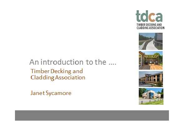 Janet Sycamore - Timber Cladding and Decking Association