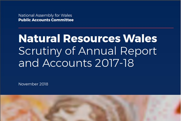 Title of NRW Scrutiny of Annual Report adn Accounts 2017-2018