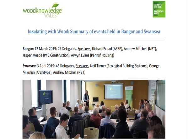 Insulating with Wood - Event Summary