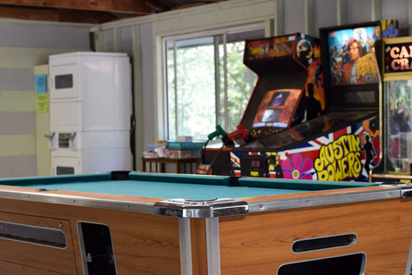Maine Campground with Pool Table