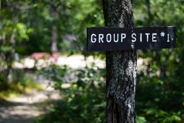 Maine group camping options