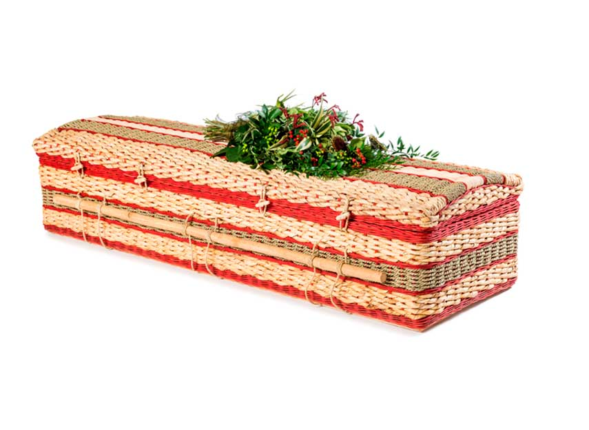 Woodland Burial Eco Friendly Burial Caskets For Funerals