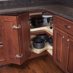 Kitchen Cabinet Pull Out Shelves Cherry Cart Smart Organization - Woodland Cabinetry