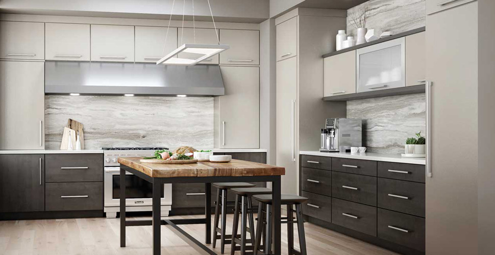 high gloss acrylic kitchen cabinets small tv for style trends - woodland cabinetry