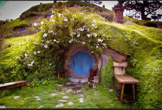 """""""actual"""" hobbit house"""