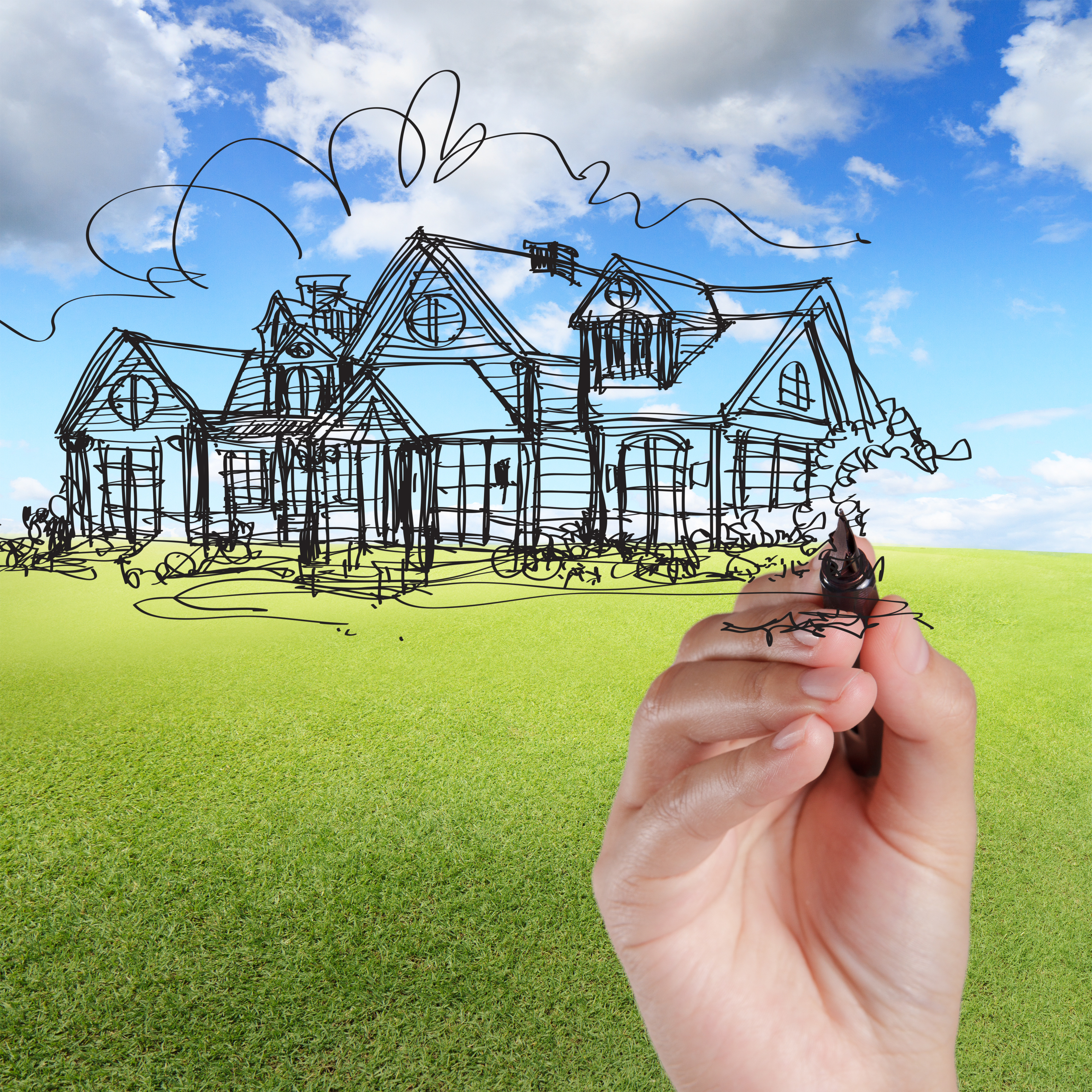 Low down payment Land and Home Construction Loans in