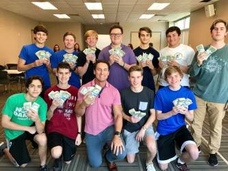 ellis grade 11th byron students boys financial woodlands eleventh talks money class national junior adviser texas finance charity advisor linkedin