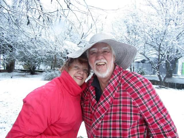 Woodlands Retreat Snow Mum & Dad -30