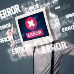 Techno phobe - computer error