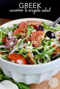 arugula geek salad