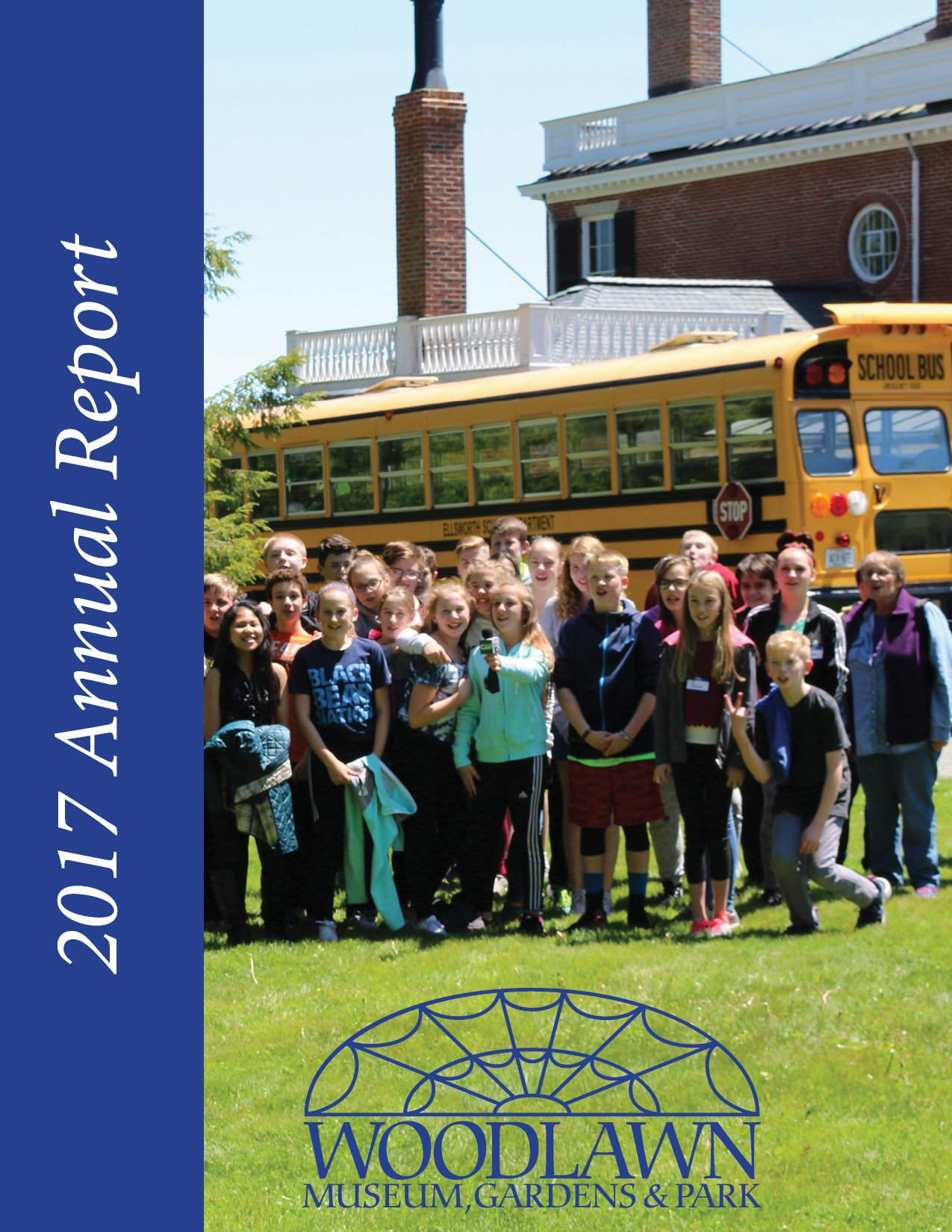 2017 HCTPR Annual Report Cover Page - Woodlawn Museum
