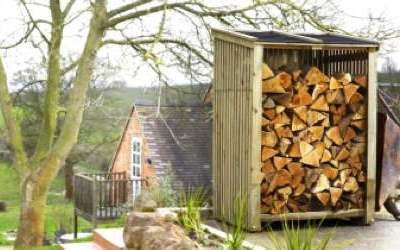 Log Stores & Wood Sheds