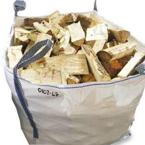 kiln dried softwood builders dumpy bag