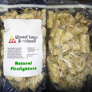 natural eco firelighters bag