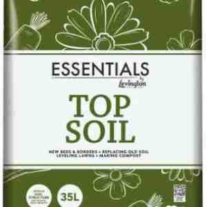 levington ssentials topsoil 35 litre bag