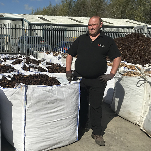 bulk bag decorative bark mulch