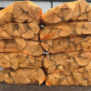 kiln dried ash hardwood firewood logs nets