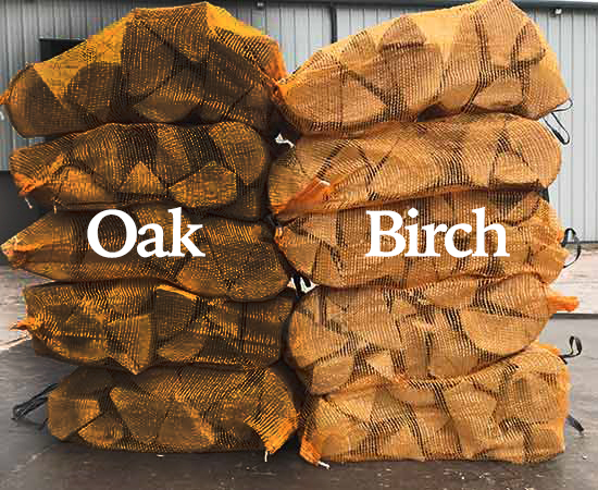 mixed oak and birch hardwood nets