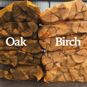 mixed oak and birch hardwood nets