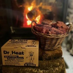 dr heat eco-friendly natural firelighters