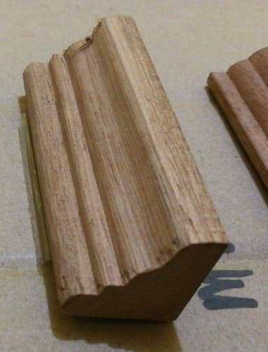Kayu Nyatoh Skirting M2626