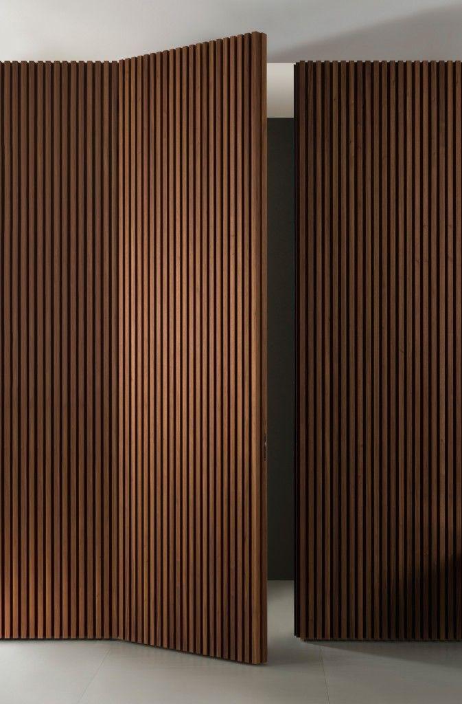 Vertical Kayu Pintu Timber Door