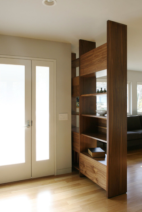 Solid Wood Divider - Wood Partition