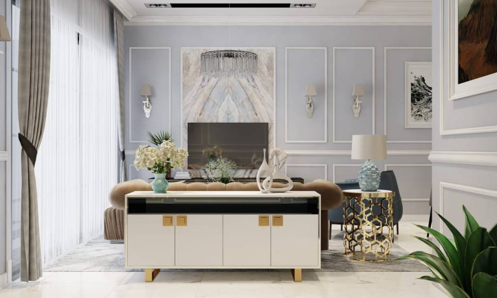 Wainscoting Design By Woodmalaysia