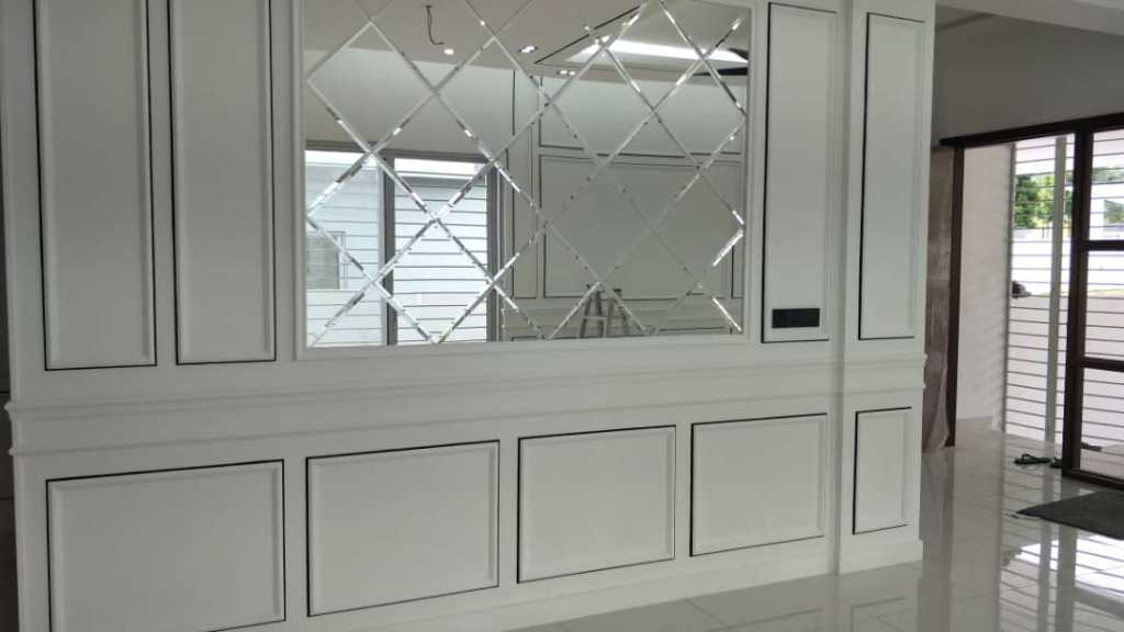 England Style Wainscoting By WoodMalaysia