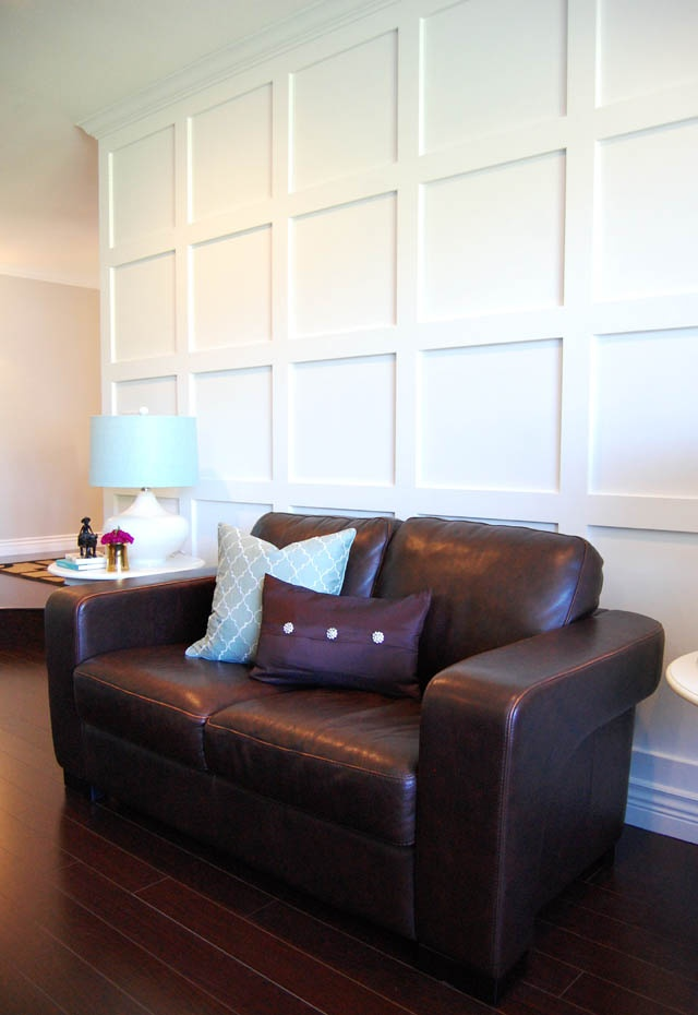 Square Wall wainscoting Design