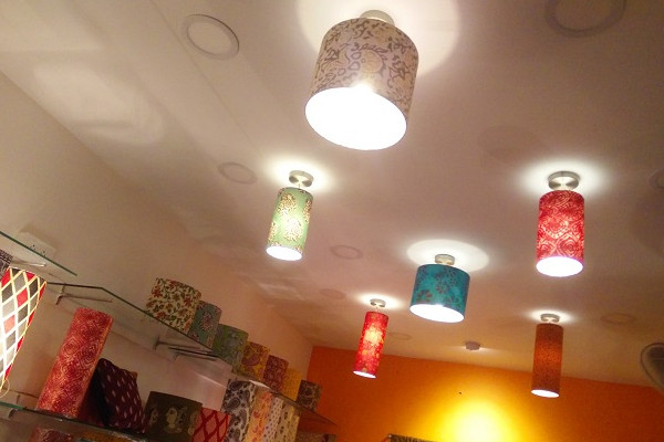 A lighting / lampshade store in OMR, Chennai