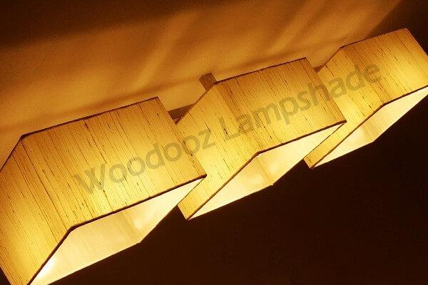 Bespoke ceiling light fixture for an Interior Designer