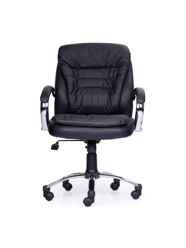 revolving chair hsn code toddlers table and chairs buy poise low back black leatherette office premium high