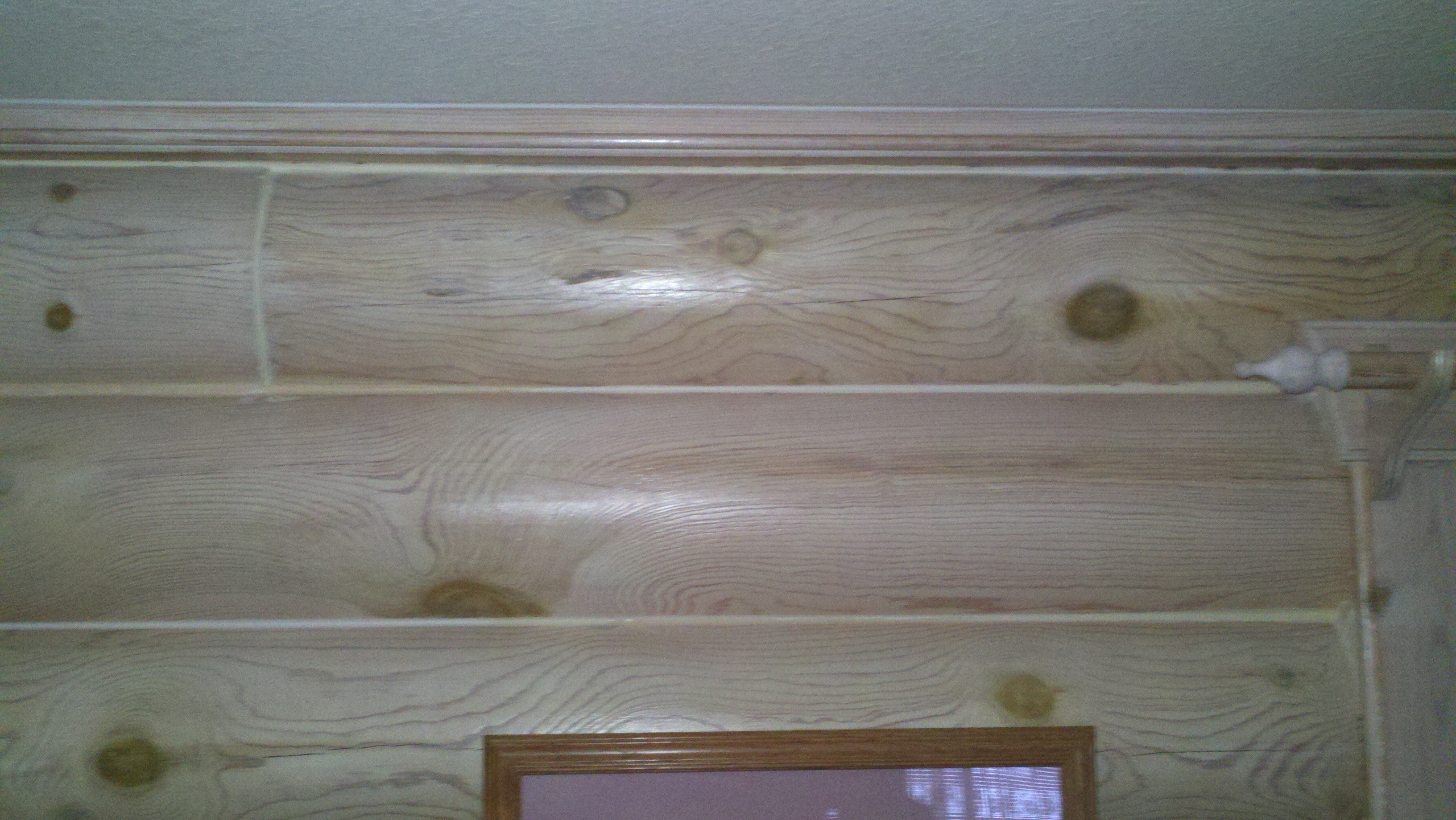 White Wood Stain Interior