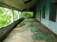 abandoned home of missionaries